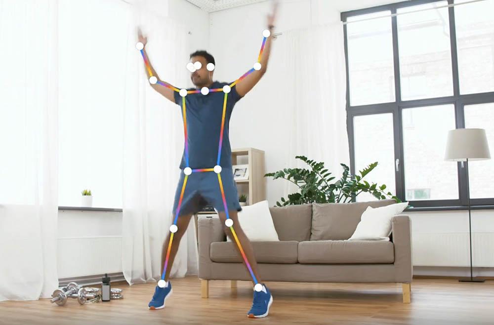 Apple Vision Framework: fitnessoefening