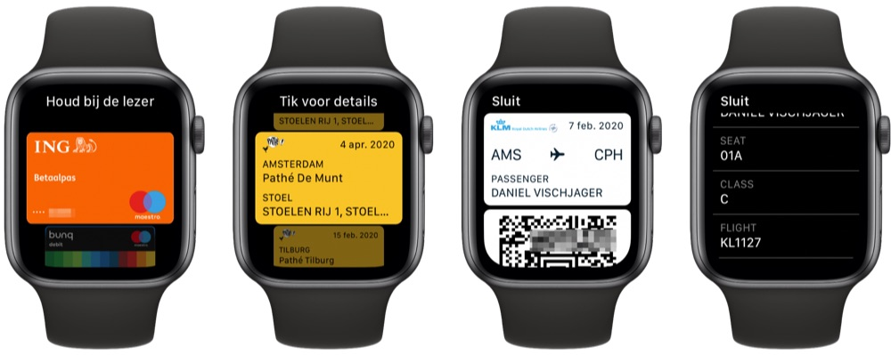 Apple Pay en Wallet in watchOS 7