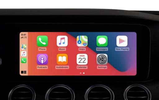 CarPlay in iOS 14.