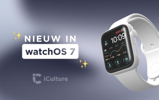 Nieuwe watchOS 7 functies.
