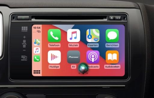 CarPlay verbeteringen in iOS 14.