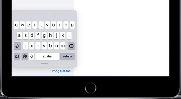 Scribble toetsenbordje