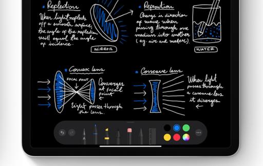 handschrift op iPad