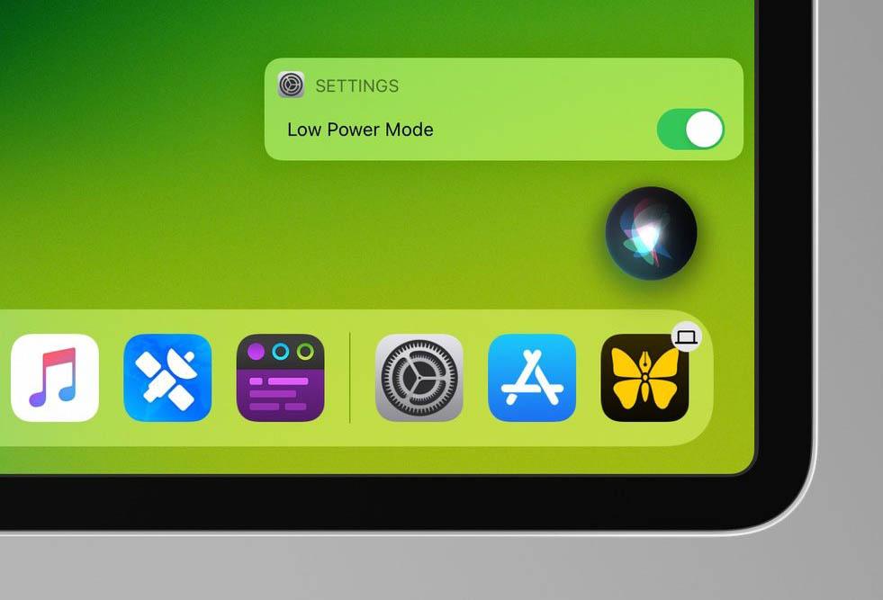 Energiebesparingsmodus op iPad