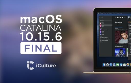 macOS Catalina 10.15.6 final.