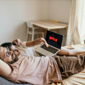 Netflix op MacBook