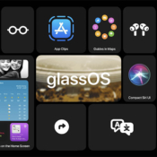glassOS widgets