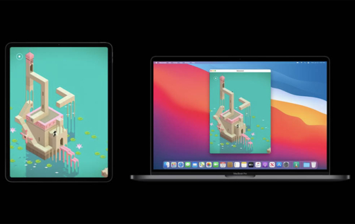 iPad-app op de Mac gebruiken