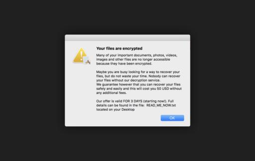 Mac-ransomware