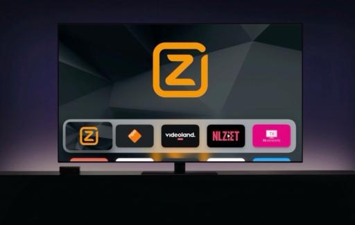 Televisiekijken op de Apple TV met apps.