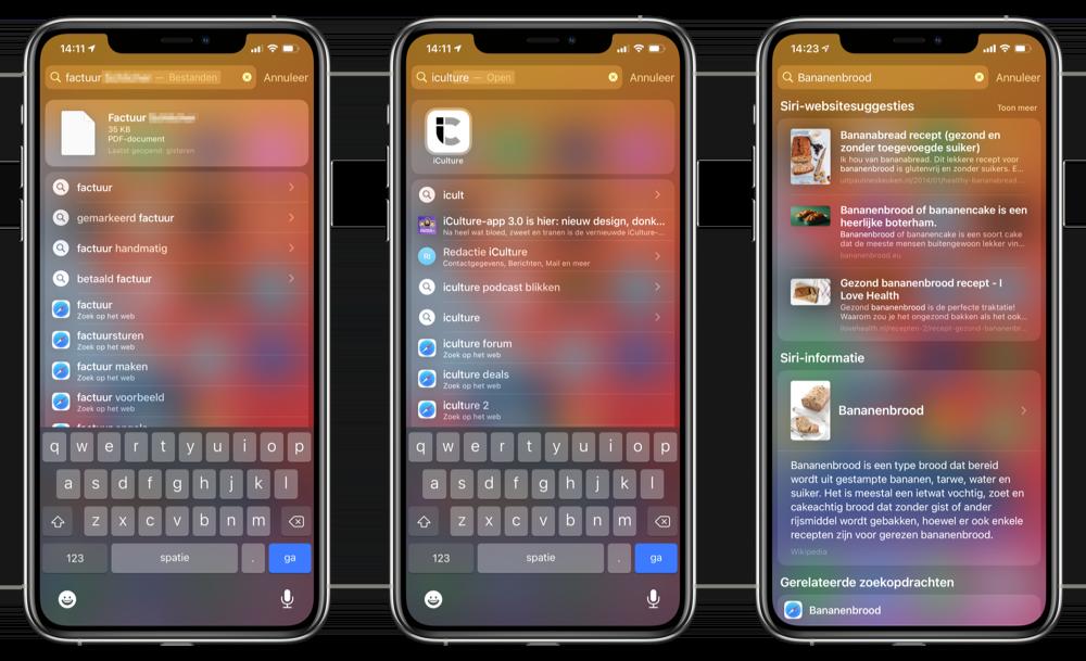 Spotlight in iOS 14