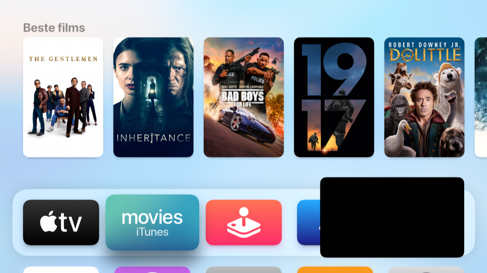 Picture-in-picture in tvOS 14.