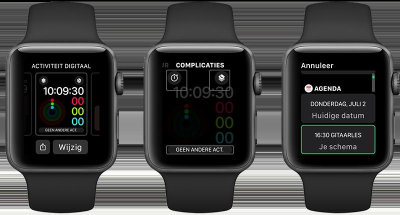 Complicaties Apple Watch