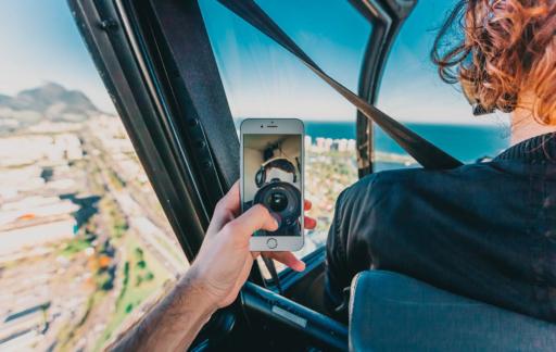 Reis plannen met iPhone