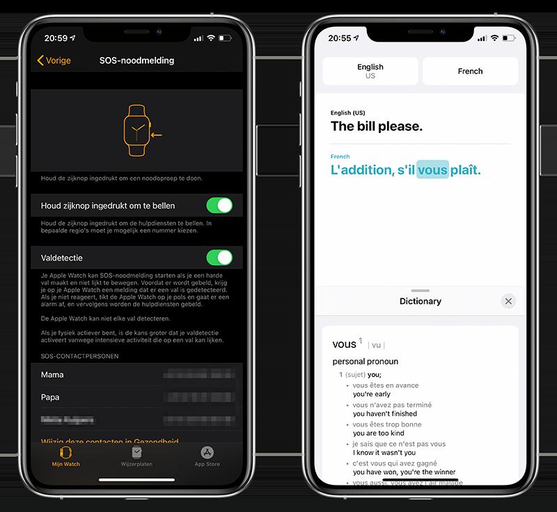 SOS Noodmelding en Vertaal-app
