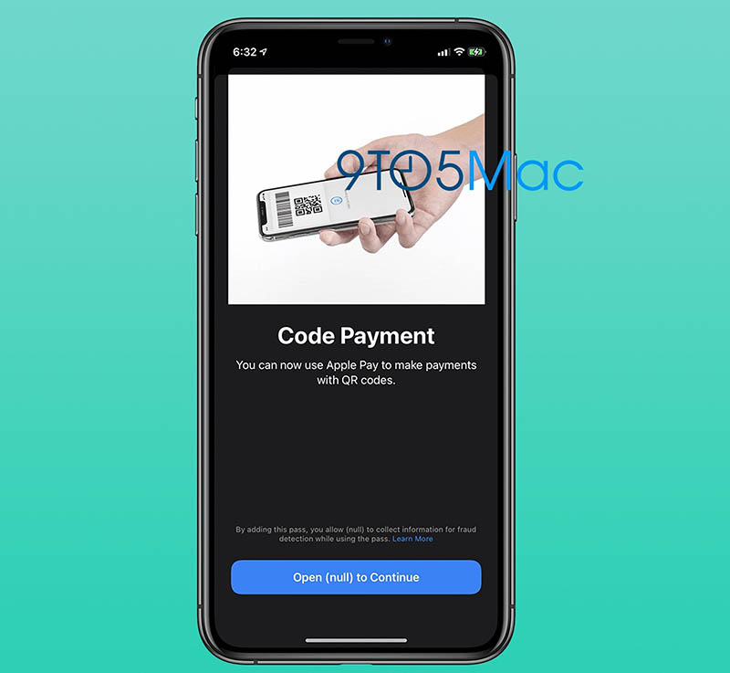 Apple Pay QR-codes