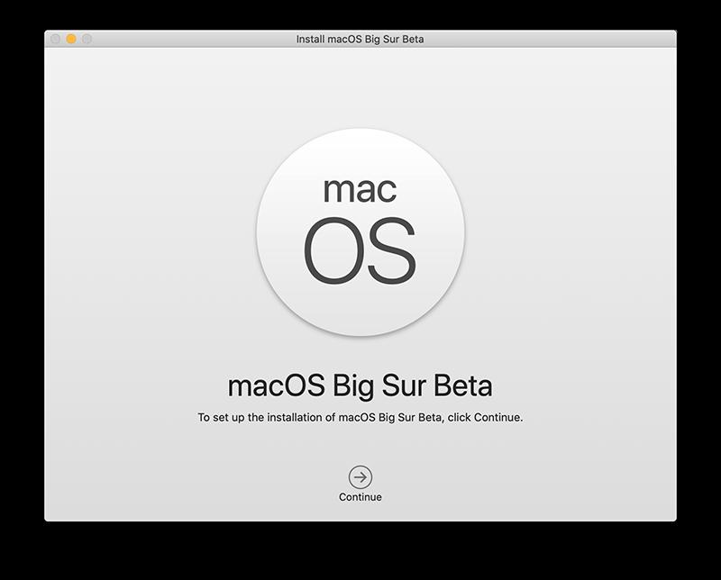 Big Sur installeren