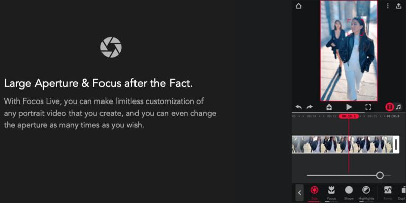 Focos Live app