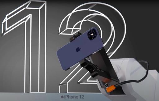 iPhone 12 productie