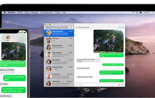 SMS op Mac doorsturen