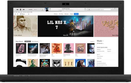 iTunes op een Windows-pc