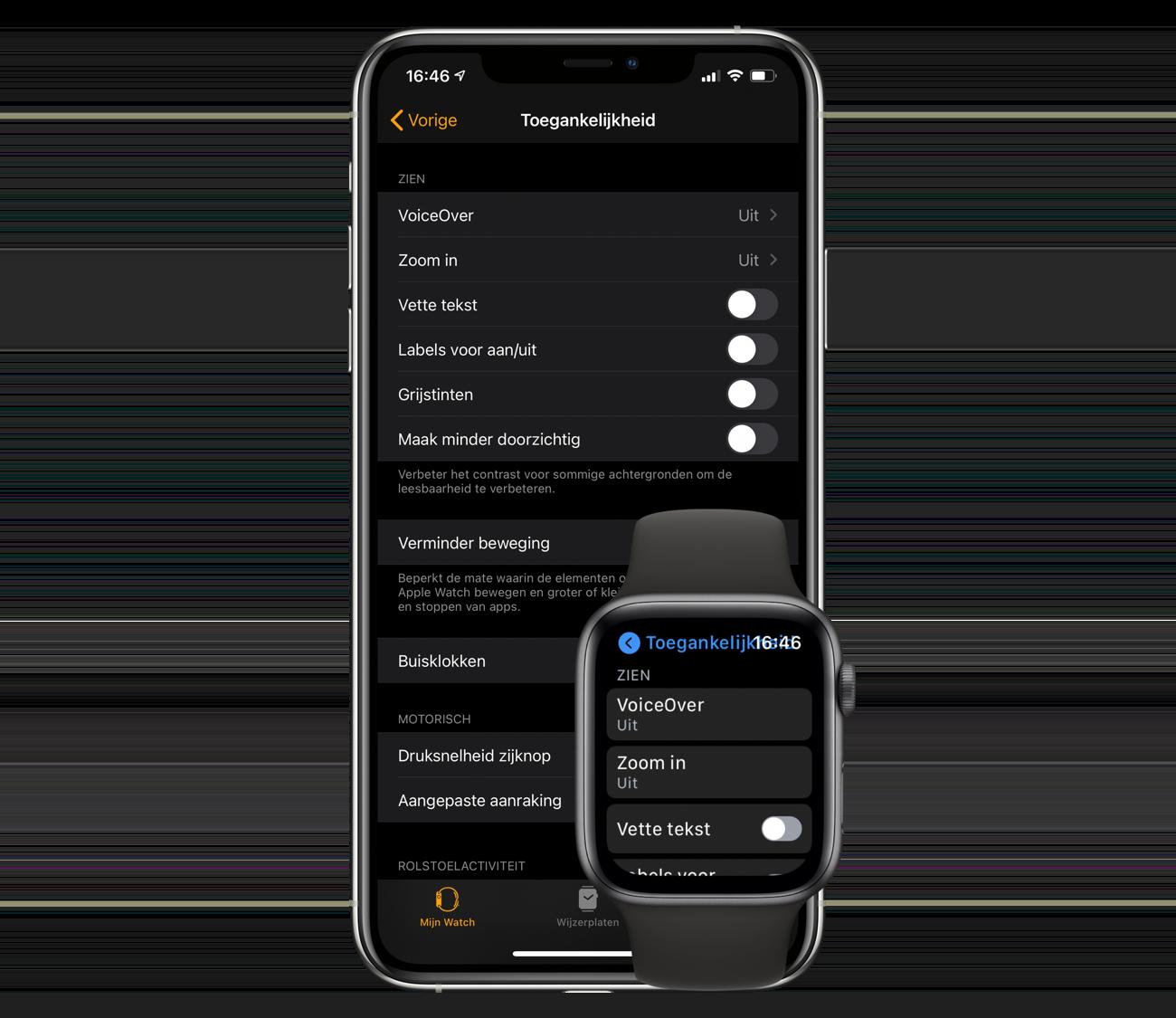 Apple Watch toegankelijkheid
