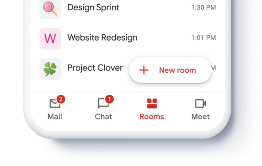 Gmail app redesign