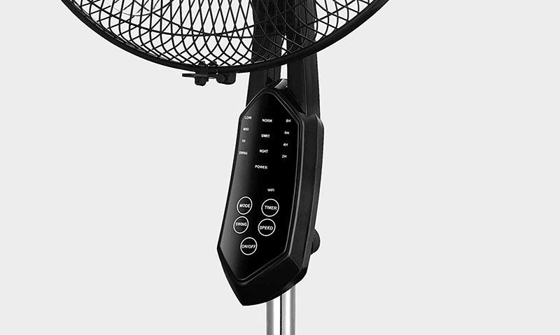 AirGo ventilator knoppen