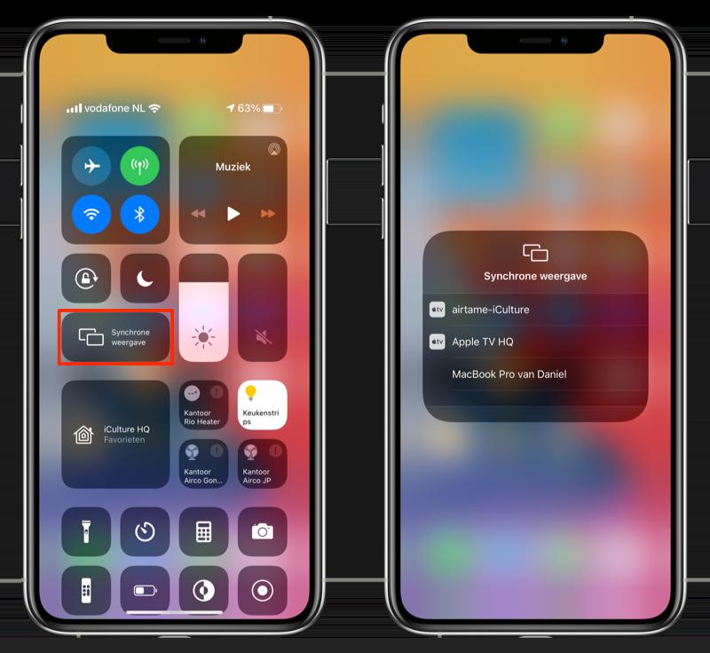 AirPlay Mirroring iPhone