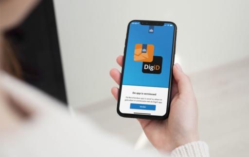 Berichtenbox-app vernieuwd.