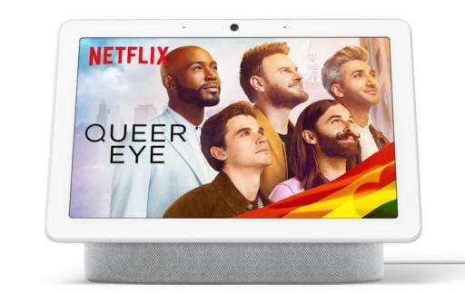 Netflix op Google Nest Hub Max