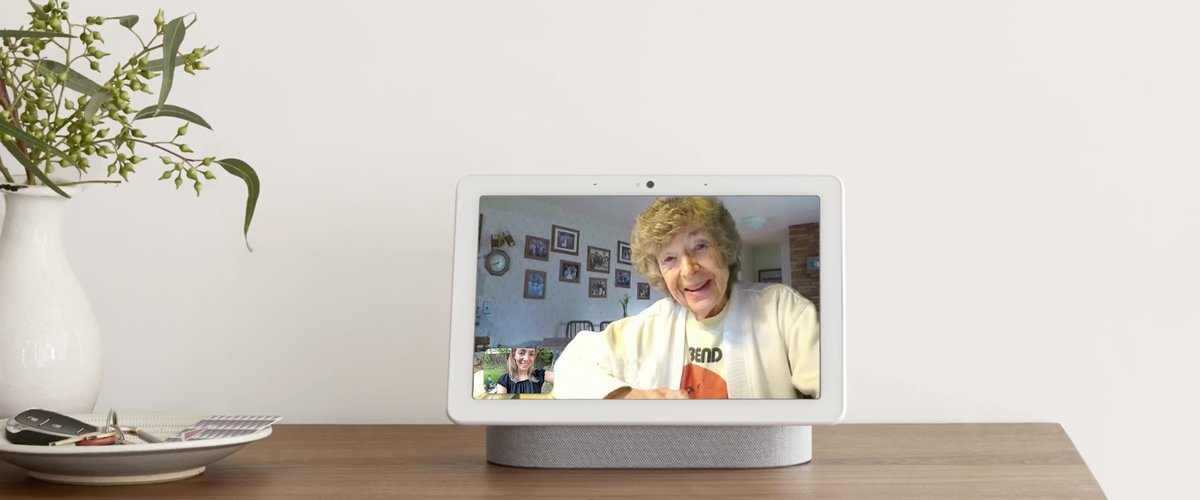Google Nest Hub Max met camera
