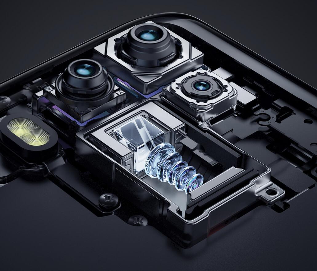 Periscopische cameralens in Xiaomi toestel.