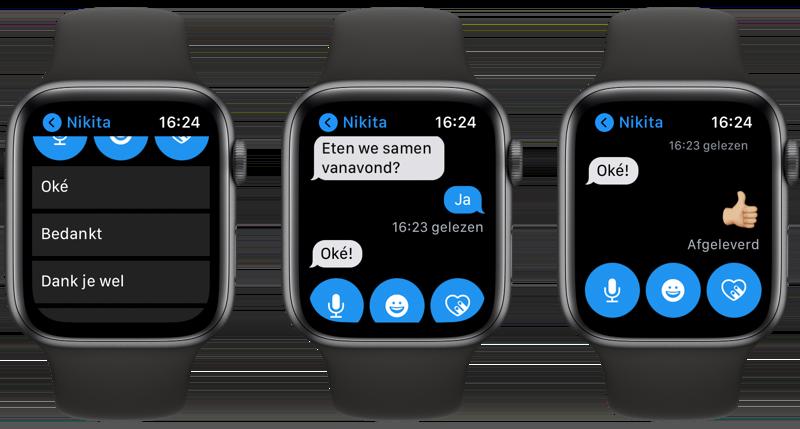 Berichten Apple Watch