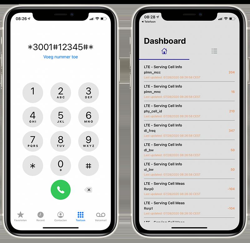 Field Test Mode in iOS 14