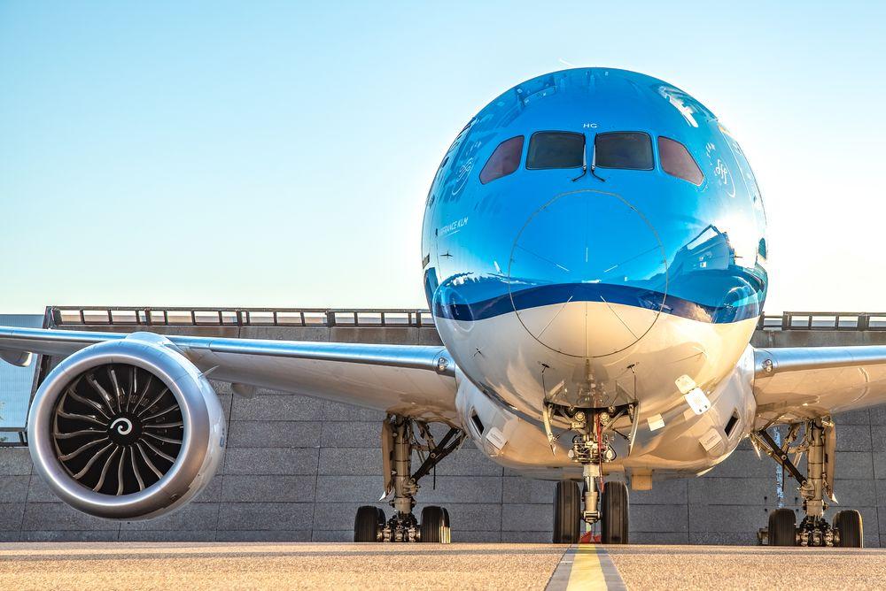 KLM vliegtuig Boeing 787-9