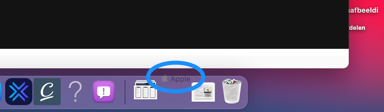 Add website to Mac dock