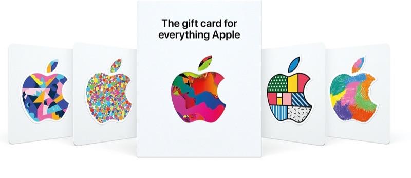 Apple cadeaukaart in de VS voor 2020.