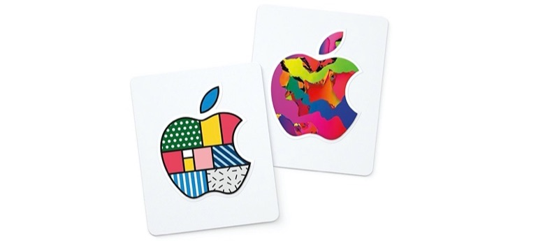 Designs nieuwe Apple giftcard in 2020.