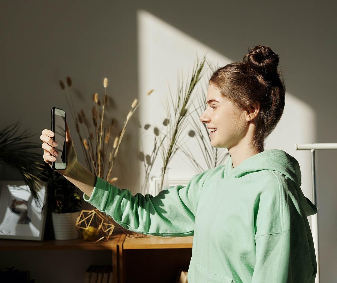 Selfie-apps voor iPhone
