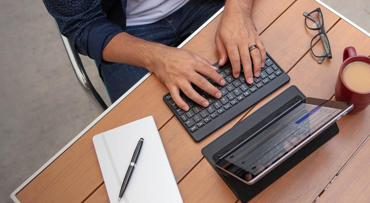 Draadloze toetsenborden met Bluetooth