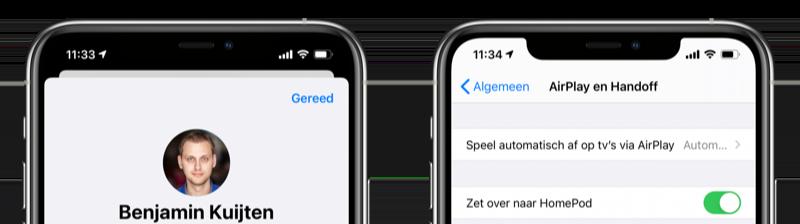 Kaartweergave of menuweergave iOS 14
