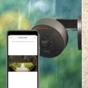 HomeKit-camera activiteitszone.