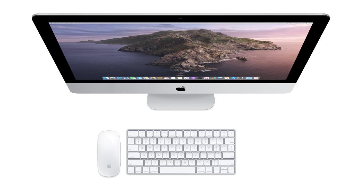 2020 iMac bovenaanzicht