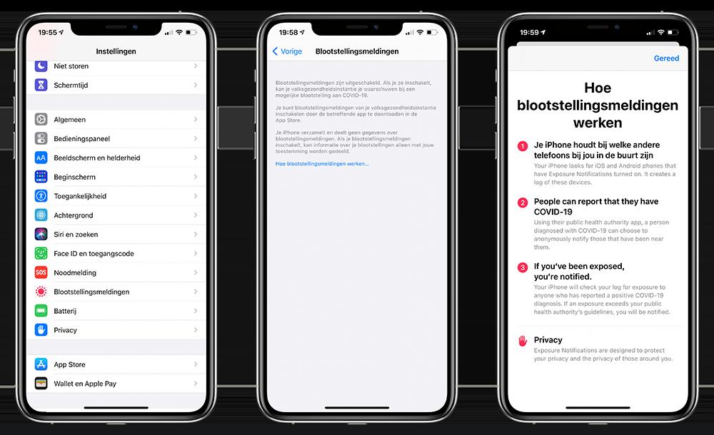 COVID 19 iOS 14 beta