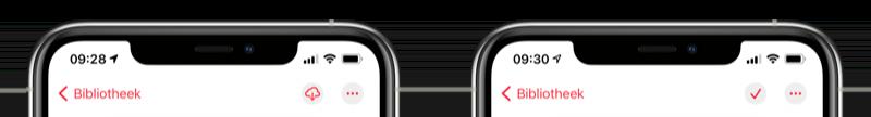 Muziek symbolen iOS 14 beta 4