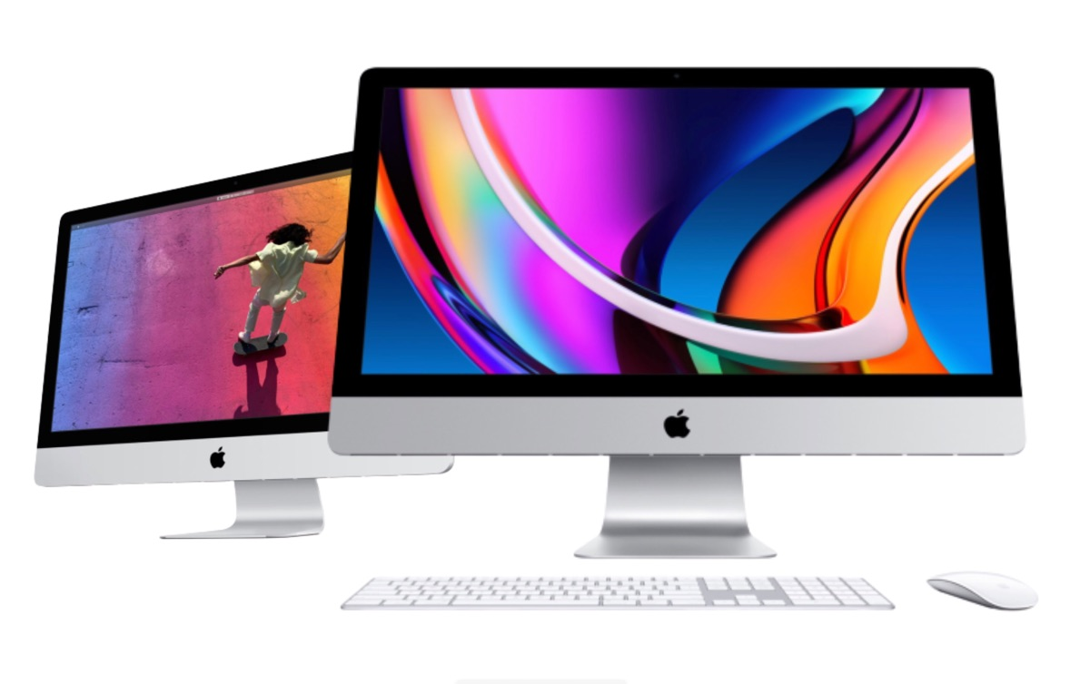 27-inch iMac 2020 vs iMac 2019.