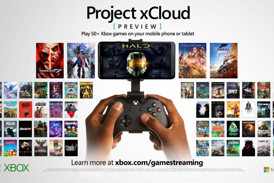 Project xCloud van Microsoft.