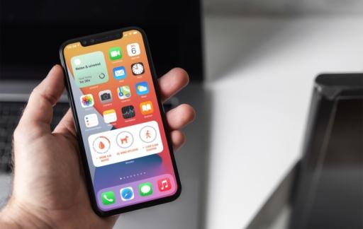 iOS 14 widgets van derden.