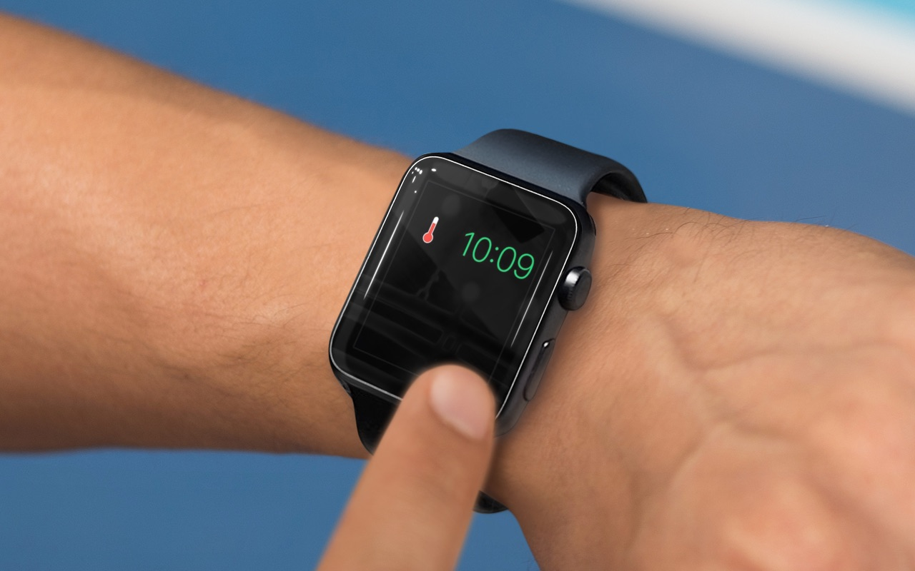 Apple Watch oververhit.